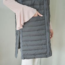 JUSTONE - Duck Down Padded Long Vest