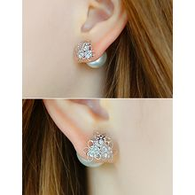 soo n soo - Faux Pearl Earrings