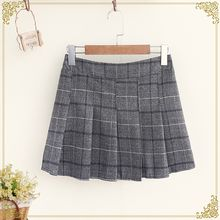 Fairyland - Plaid Pleated Skirt