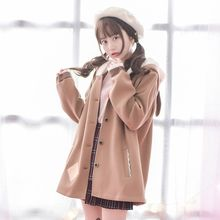 Moriville - Hooded Woolen Coat