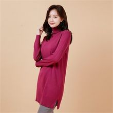 Styleberry - Turtle-Neck Long Sweater