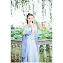 GOGO Girl - Frilled Chiffon Dress