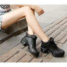 Danceon - Genuine Leather High-Top Dance Sneakers