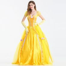Cosgirl - Belle Cosplay Costume