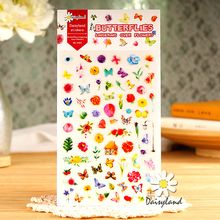 Tivi Boutique - Butterfly & Flower Stickers