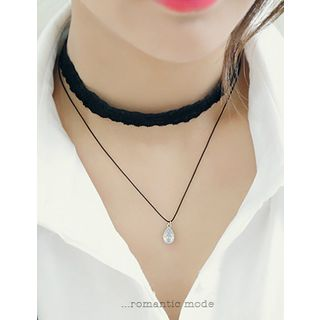 soo n soo - Layered Choker (2 Designs)