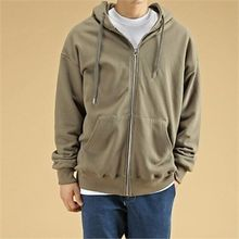 THE COVER - Kangaroo-Pocket Cotton Hoodie