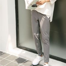 Mr. Cai - Paneled Slim-Fit Cropped Pants