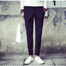 Bestrooy - Plain Slim Fit Pants