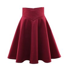 Loverac - Plain Mini A-Line Skirt