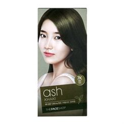The Face Shop - Stylist Silky Hair Color Cream (#7K Ash Khaki) 130ml