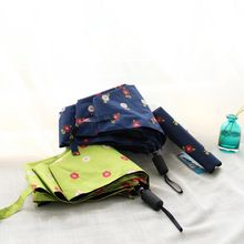 Timbera - Flower Print 3-Folded Umbrella