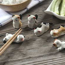 Modern Wife - Set of 4: Cat Chopsticks Rest