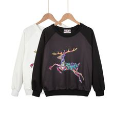 Momewear - Long-Sleeve Raglan Printed Top