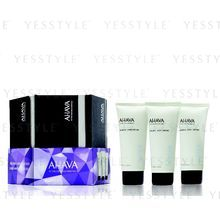 AHAVA - Mineral Stars (3 items): Lotion 100ml + Hand Cream 100ml + Foot Cream 100ml (Limited Edition)