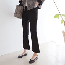 DAILY LOOK - Flat-Front Boot-Cut Pants