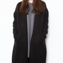 Ichiyarn - Long Hooded Thick Cardigan