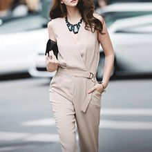 Yilda - Sleeveless Jumpsuit