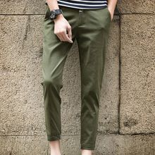 Arthur Look - Cropped Slim Fit Chino Pants