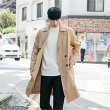 STYLEMAN - Double-Breast Trench Coat