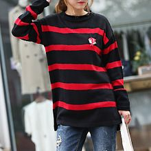 Seoul Fashion - Striped Knit Top