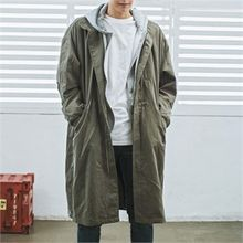 MITOSHOP - Funnel-Neck Pocket-Side Parka