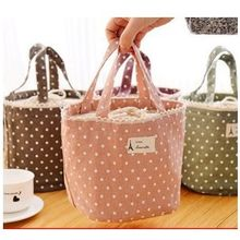 School Time - Dotted Lunch Bag