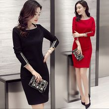 lilygirl - Long-Sleeve Sheath Dress