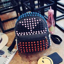 Rabbit Bag - Faux-Leather Studded Backpack