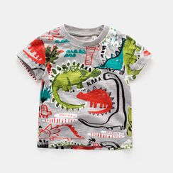Kido - Kids Print Short-Sleeve T-shirt