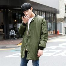 TOMONARI - Snap-Button Long Flight Jacket