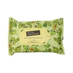 The Face Shop - Herb Day Cleansing Tissue Handy Pack