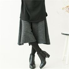 GLAM12 - Inset Knit Pants Leggings