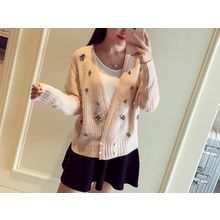 Lucy Girl - Embellished Cardigan