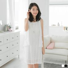 OrangeBear - Lace Shift Dress