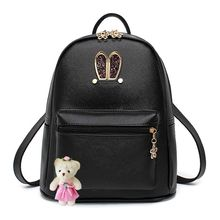 miim - Sequined Rabbit Ear Backpack