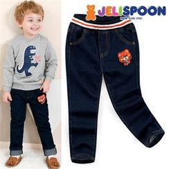 JELISPOON - Kids Band-Waist Jeans