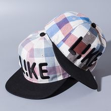 Buttercap - Embroidered Check Baseball Cap
