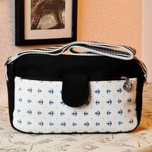 Bags 'n Sacks - Nautical Print Shoulder Bag