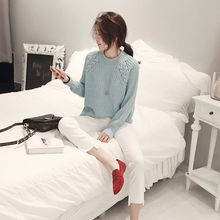 NANING9 - Raglan-Sleeve Rib-Knit Sweater