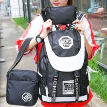 Sweet City - Set: Two Tone Backpack + Cross Bag + Pouch