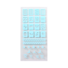 Innisfree - Self Nail Sticker - Stencil 1ea