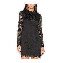 Dream a Dream - Long-Sleeve Lace Sheath Dress