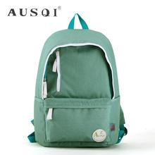 Ausqi - Plain Canvas Backpack
