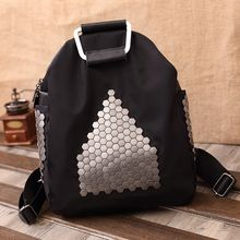 Huzzle Bag - Studded Backpack