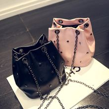 Secret Garden - Studded Bucket Bag