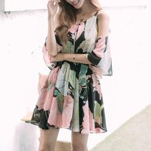 Jolly Club - Floral Chiffon Dress