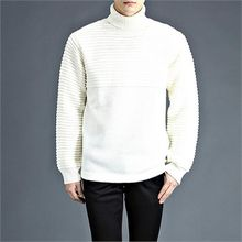 THE COVER - Turtle-Neck Knit Top