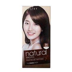 菲诗小铺 - Stylist Silky Hair Color Cream (#5N Natural Brown) 130ml