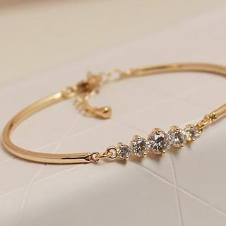 Love Generation - Crystal Adjustable Bangle